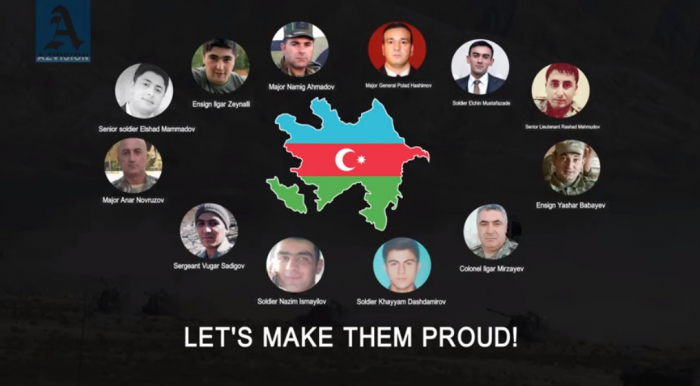 Azerbaijan will never forget their sacrifice -  VIDEO dedicated to martyrs