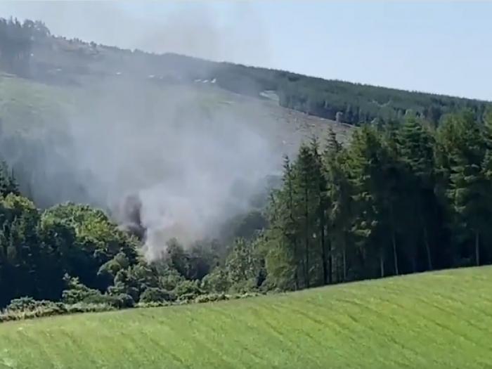 Train derailment occurred in Scotland