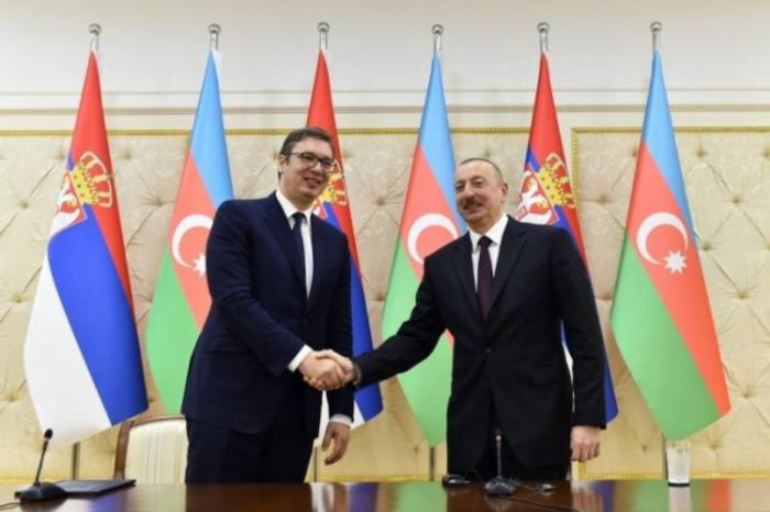 Serbian President phoned President Aliyev