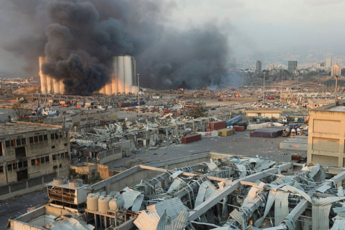 Explosion leaves Lebanon withless than a month