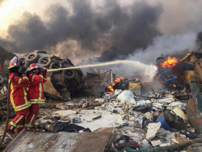 Lebanon detains 16 port employees over Beirut explosions