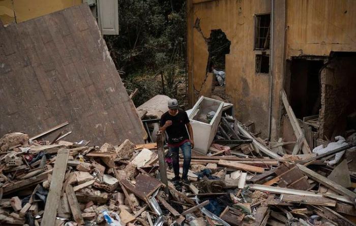 Beyruta dəyən ziyan  -