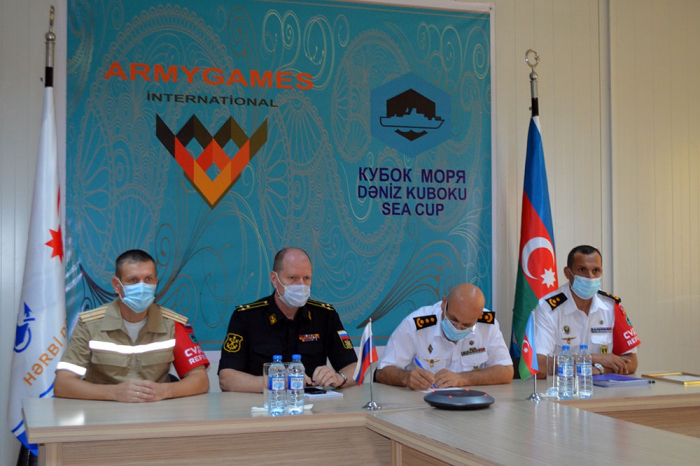 """Referees of """"Sea Cup"""" international contest awarded certificates -  VIDEO"""