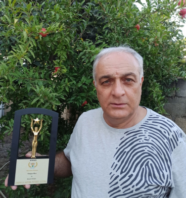 """El director azerbaiyano se unió al jurado del """"Festival Internacional de Cine Independiente"""""""