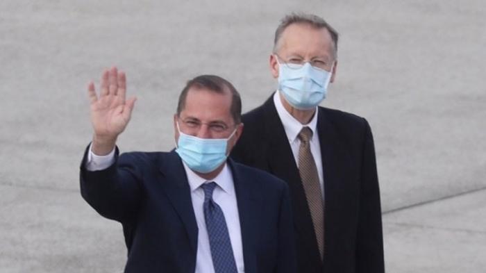 US-Gesundheitsminister Azar trifft Präsidentin Tsai Ing-wen