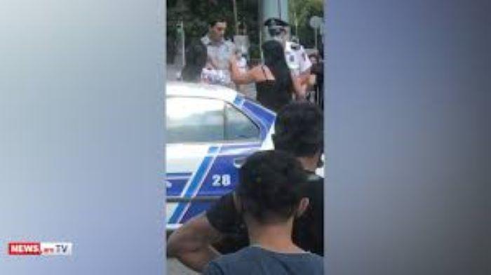 Ermənistanda növbəti polis özbaşınalığı -