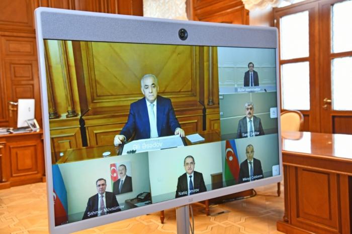 Se celebró la primera reunión del Consejo de Supervisión del Holding de Inversiones de Azerbaiyán
