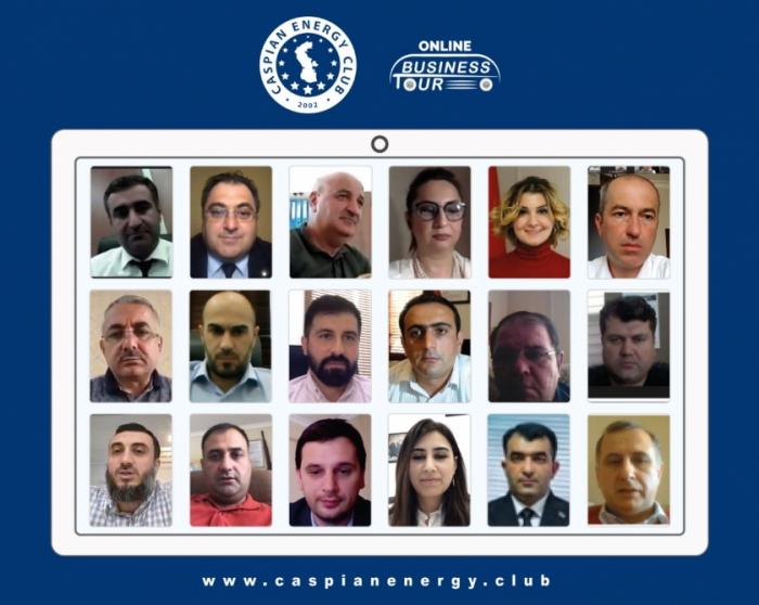 El Club de Energía del Caspio organiza el primer tour de negocios online
