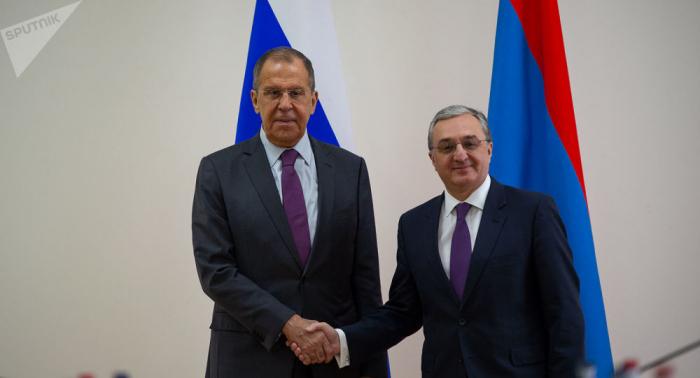 Armenia, Russia FMs discuss Karabakh conflict