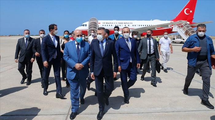 Türkiyənin vitse-prezidenti Livana getdi