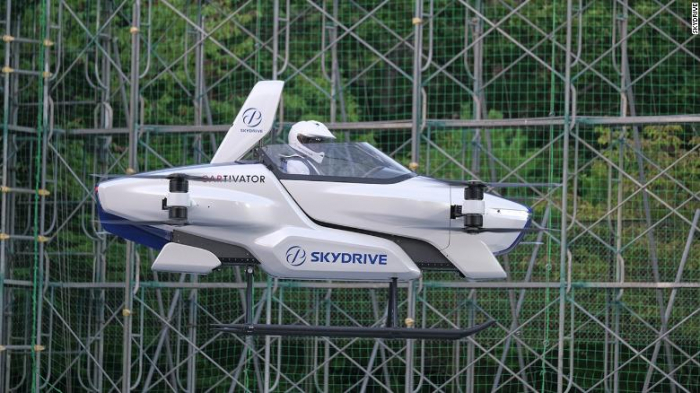 Successful test drive of a flying car conducted by Japan