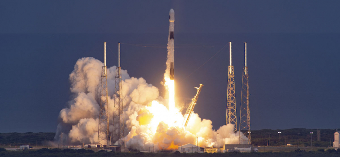 SpaceX launches first polar orbit mission in decades -   VIDEO
