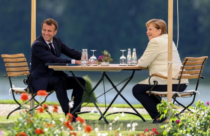 Macron recevra Angela Merkel à Brégançon le 20 août