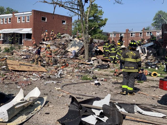 U.S. Baltimore gas explosion kills 1, injures 4