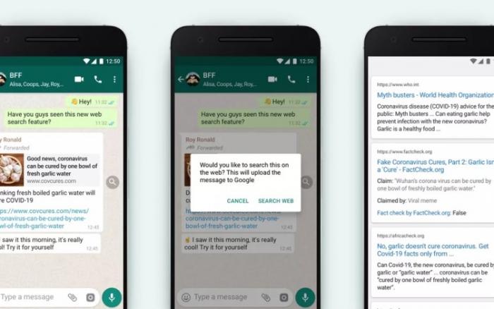 """""""WhatsApp""""da yeni funksiya  - Feyk məlumatları aşkarlamaq mümkün olacaq"""