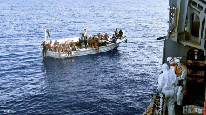 إنقاذ 36 شخصاً قبالة الشواطئ اللبنانية