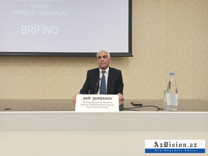 """""""Payız-qış mövsümü problem yarada bilər"""" -    TƏBİB rəsmisi"""