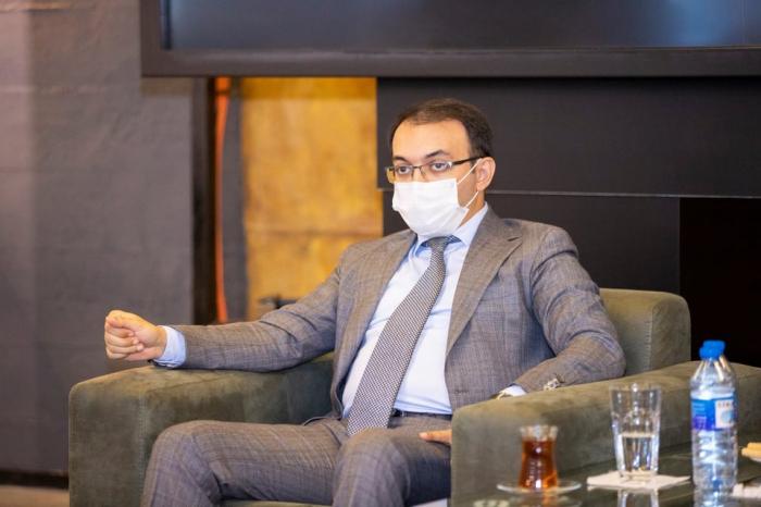 Dövlət Agentliyinin sədri AZİNNEX üzvləri ilə görüşüb -  FOTOLAR