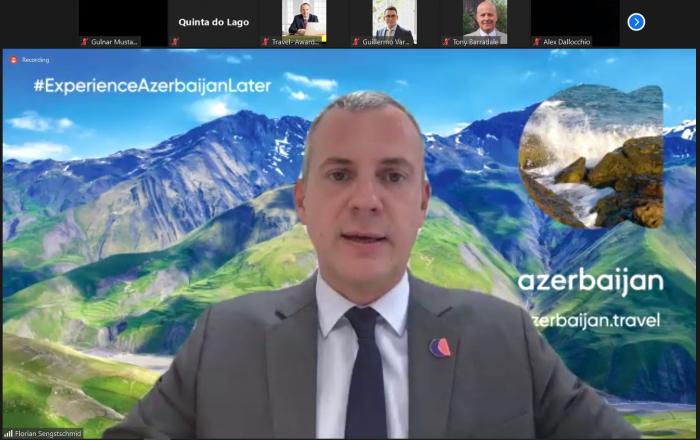 Florian Zenqstşmid Azərbaycanın turizm imkanlarından danışdı