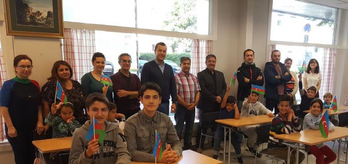 افتتاح مدرسة أذربيجانية في النرويج