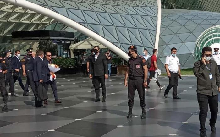 """Galatasaray"" FC arrived in Baku"
