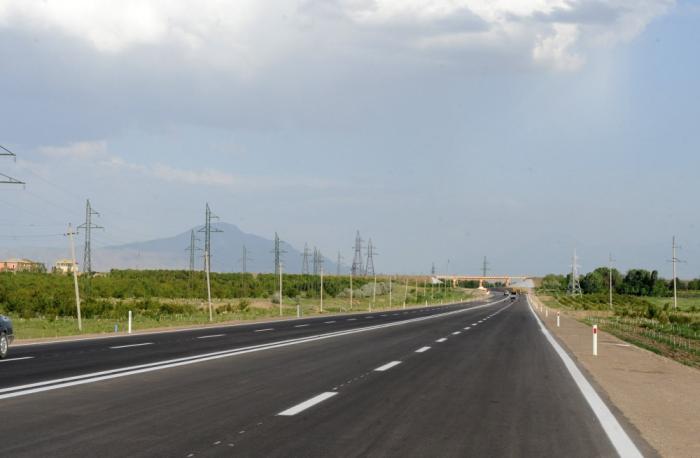 Naxçıvanda 1097 km-lik yol yenidən qurulub, 69 körpü tikilib