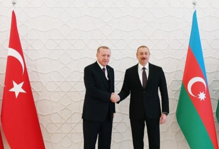 Turkish President Erdogan calls President Ilham Aliyev
