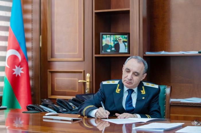 Baş prokuror Antikorrupsiya Şəbəkəsinin milli koordinatoru seçildi