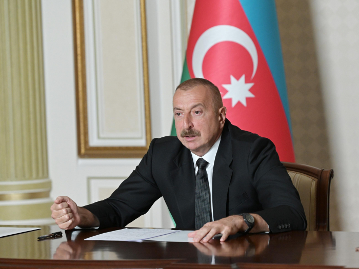 """""""Münaqişənin yalnız iki tərəfi var - Ermənistan və Azərbaycan"""" -    Prezident"""