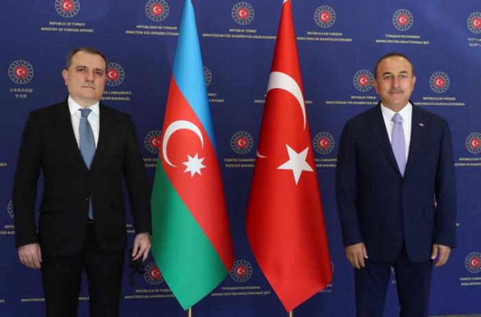 Ceyhun Bayramov və Çavuşoğlu   -
