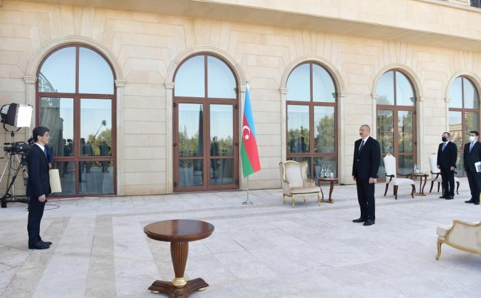 Prezident iki ölkənin yeni səfirlərini qəbul edib -  YENİLƏNİB