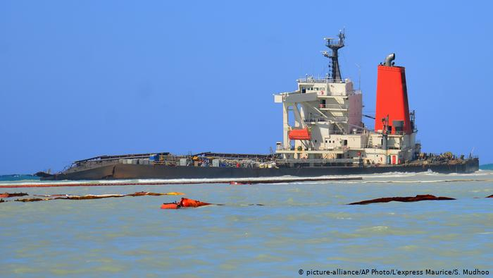 Mauritius demands Japan to pay $34 million over oil spill, declared nvironmental emergency
