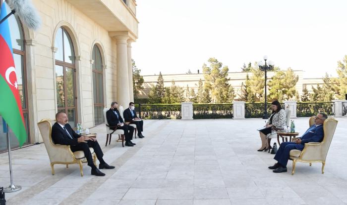 President Aliyev: There are virtually no active contacts between Azerbaijan, Greece