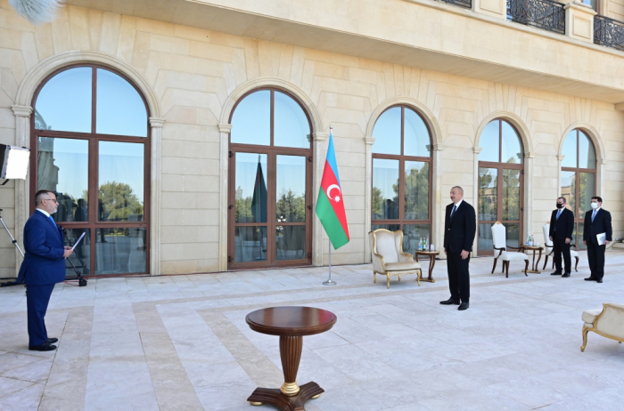 """President: One of issues negatively affecting Azerbaijani-Greek cooperation is related to """"DESFA"""""""