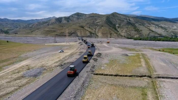 Quba-Qonaqkənd yolunun tikintisi yekunlaşır -    FOTO