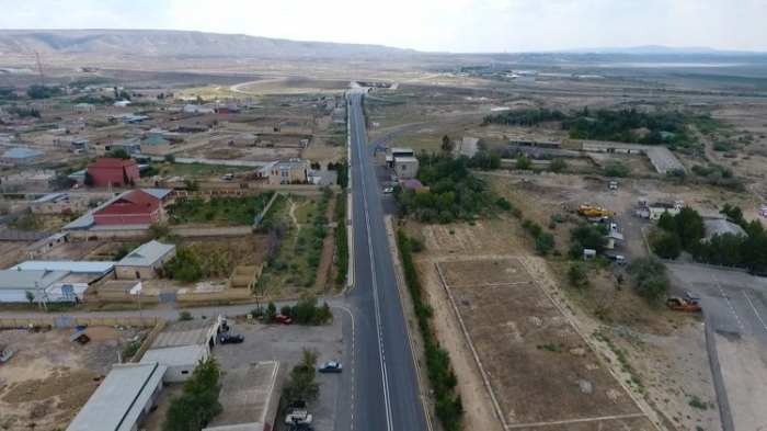 Hacıqabul-Muğan yolu yenidən quruldu -    FOTO