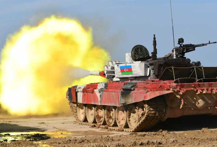 "Azerbaijani tankmen reach final of ""Tank Biathlon"" contest -   VIDEO"