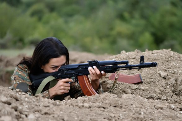 """Hakobyan preparing Armenian women for attack on Azerbaijani civilians"" -Italian Media"