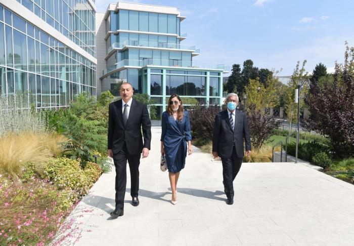 Prezident və birinci xanım ADA-nın iki yeni korpusunun açılışında -  FOTOLAR (YENİLƏNİB)