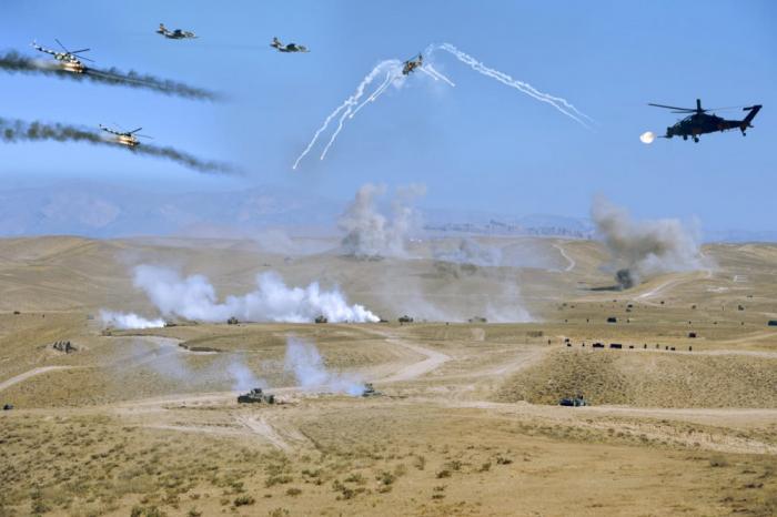 Azerbaijan, Turkey hold military exercises -  PHOTOS