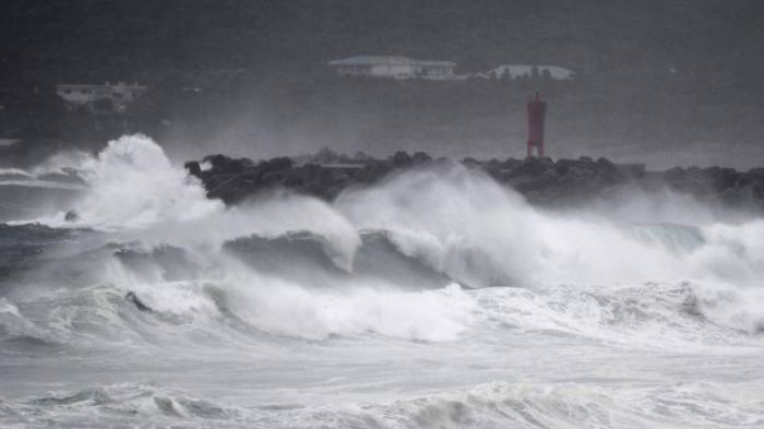 Following Japan typhoon Haishen heads towards South Korea