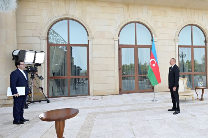 """""""Azerbaijan-Iran bilateral relations are developing fast and have reached a high level"""" - President"""