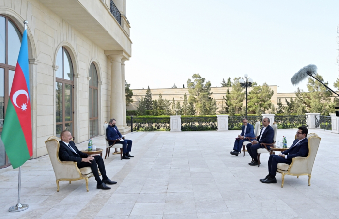 President Ilham Aliyev: This is a crime not only against us, but the entire Muslim world