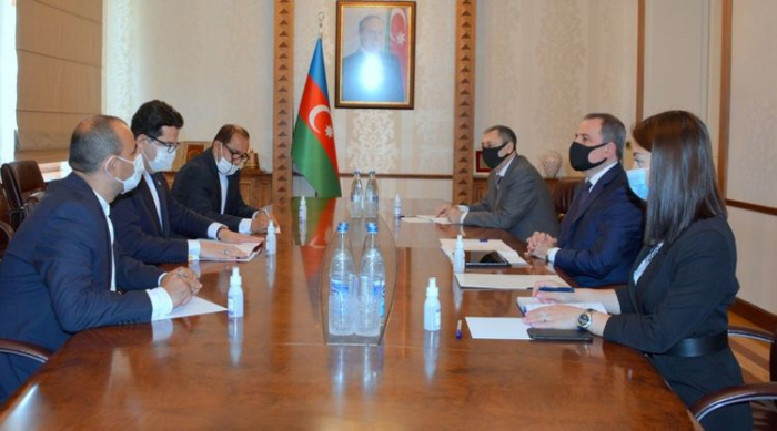 Azerbaijani FM met with Secretary General of the Turkish Council