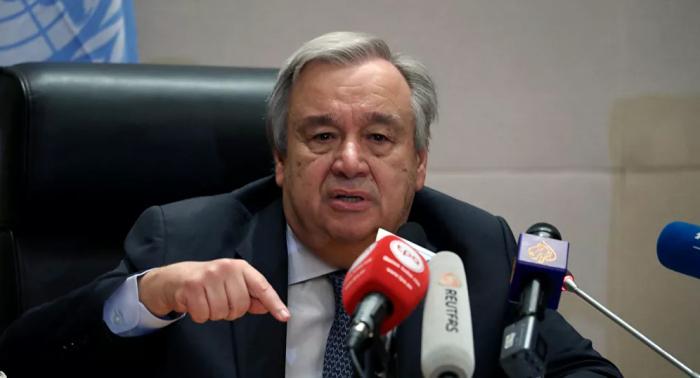 الأمين العام للأمم المتحدة يضع هدفا لإنهاء جميع الحروب خلال 100 يوم
