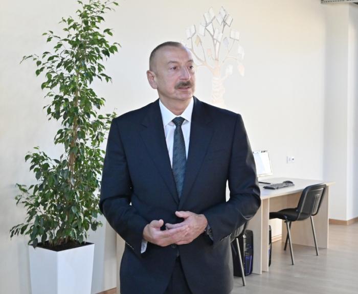 Président azerbaïdjanais:   Nous devons répondre à la demande intérieure avec des produits locaux