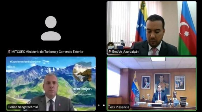 Venezuela y Azerbaiyán valoran intercambio de visitas pospandemia en materia turística entre ambos países