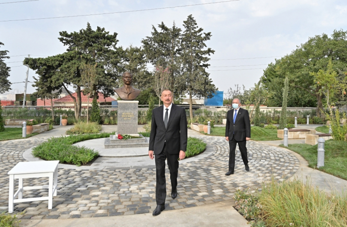 Park named after Murtuza Mukhtarov opened in Baku