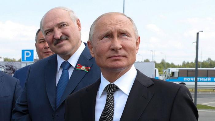 Putin trifft Lukaschenko