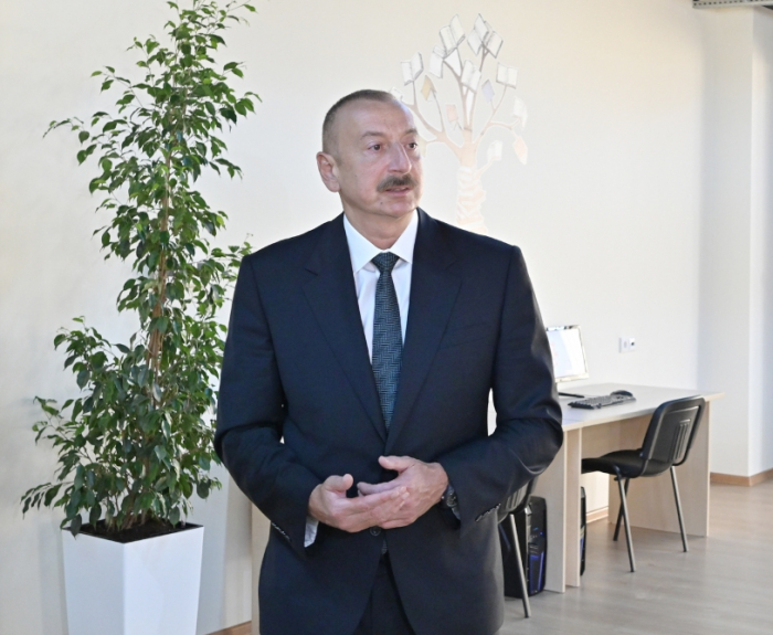 Azerbaijani president: We must meet domestic demand with local products.